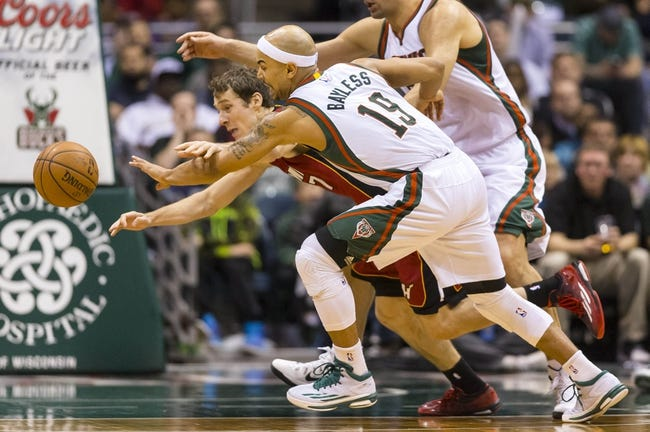 Miami Heat vs. Milwaukee Bucks - 1/19/16 NBA Pick, Odds, and Prediction
