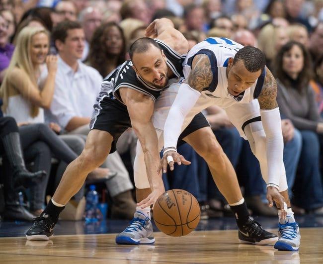 Mavericks at Spurs - 3/27/15 NBA Pick, Odds, and Prediction