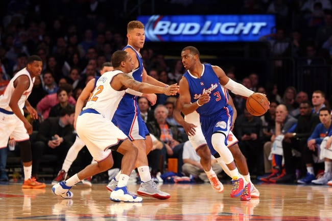 Clippers at Knicks - 1/22/16 NBA Pick, Odds, and Prediction