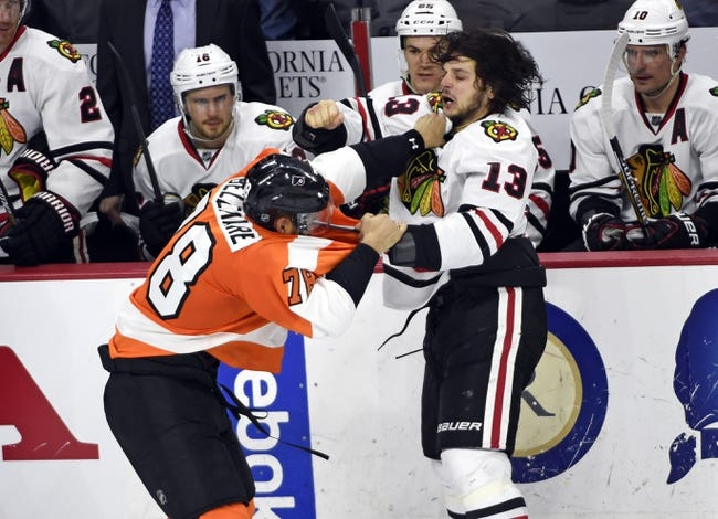 Blackhawks at Flyers - 10/14/15 NHL Pick, Odds, and Prediction