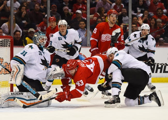 Detroit Red Wings vs. San Jose Sharks - 11/13/15 NHL Pick, Odds, and Prediction