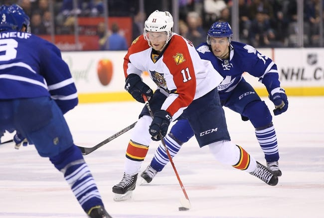 Florida Panthers vs. Toronto Maple Leafs - 1/26/16 NHL Pick, Odds, and Prediction
