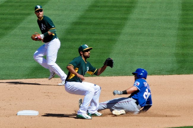 A's vs. Rangers - 4/6/15 MLB Pick, Odds, and Prediction