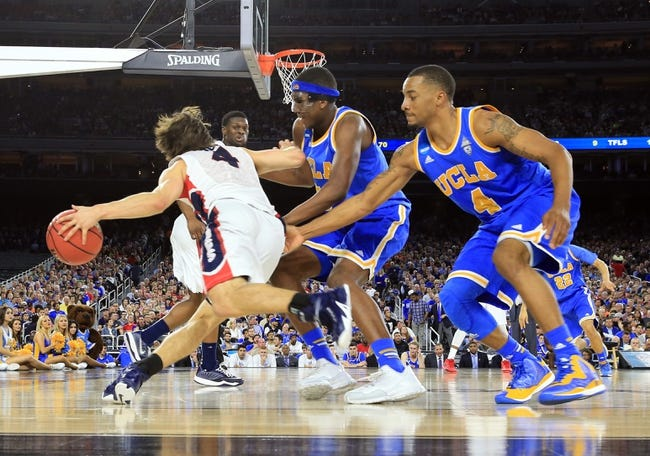 Gonzaga vs. UCLA - 12/12/15 College Basketball Pick, Odds, and Prediction