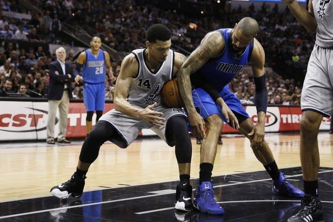 San Antonio Spurs vs. Dallas Mavericks - 11/25/15 NBA Pick, Odds, and Prediction