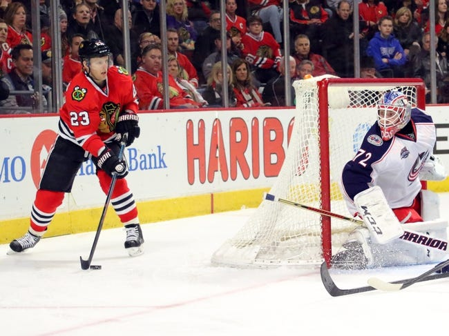 Chicago Blackhawks vs. Columbus Blue Jackets - 10/17/15 NHL Pick, Odds, and Prediction
