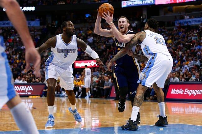 Jazz vs. Nuggets - 4/1/15 NBA Pick, Odds, and Prediction