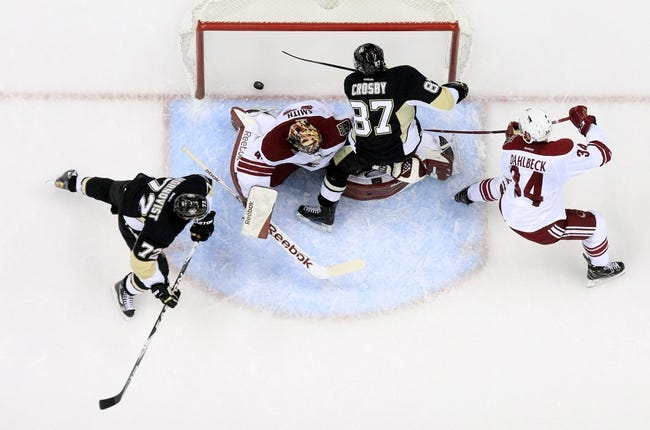 Arizona Coyotes vs. Pittsburgh Penguins - 10/10/15 NHL Pick, Odds, and Prediction