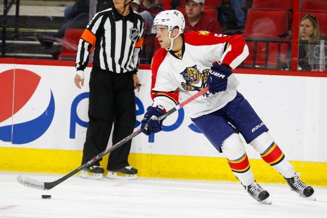 Carolina Hurricanes vs. Florida Panthers - 10/13/15 NHL Pick, Odds, and Prediction