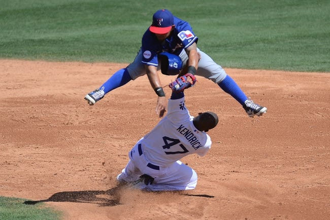 Texas Rangers vs. Los Angeles Dodgers - 6/15/15 MLB Pick, Odds, and Prediction