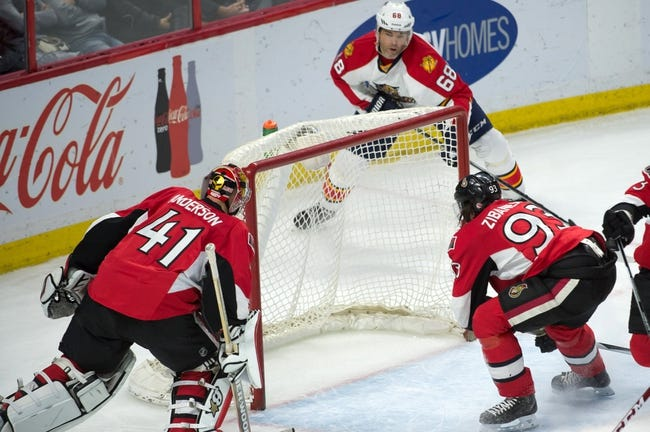 Florida Panthers vs. Ottawa Senators - 12/8/15 NHL Pick, Odds, and Prediction