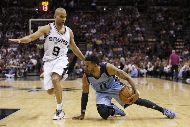 San Antonio Spurs vs. Memphis Grizzlies - 11/21/15 NBA Pick, Odds, and Prediction