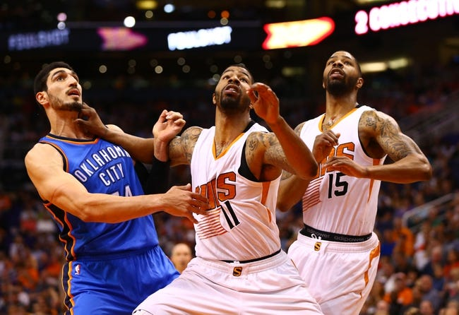 Oklahoma City Thunder vs. Phoenix Suns - 11/8/15 NBA Pick, Odds, and Prediction