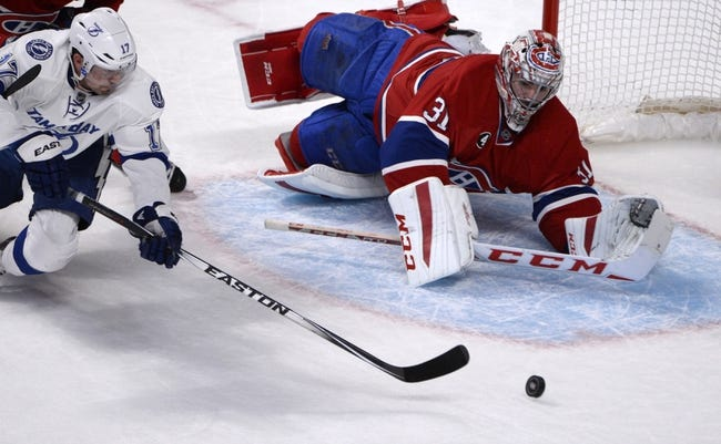 Montreal Canadiens vs. Tampa Bay Lightning - 5/1/15 NHL Pick, Odds, and Prediction