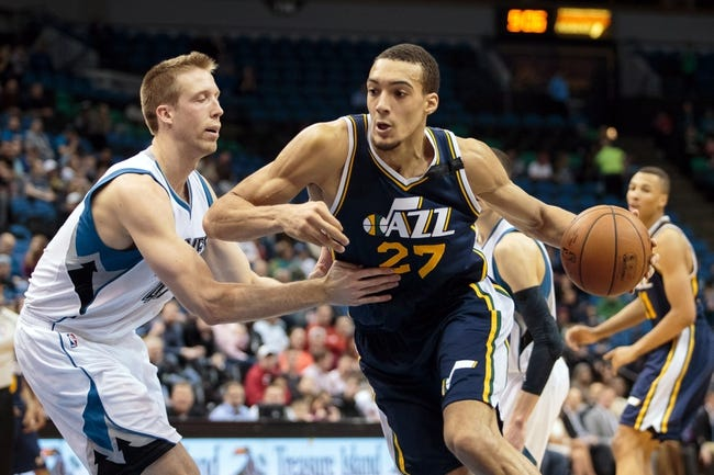 Minnesota Timberwolves vs. Utah Jazz - 12/30/15 NBA Pick, Odds, and Prediction