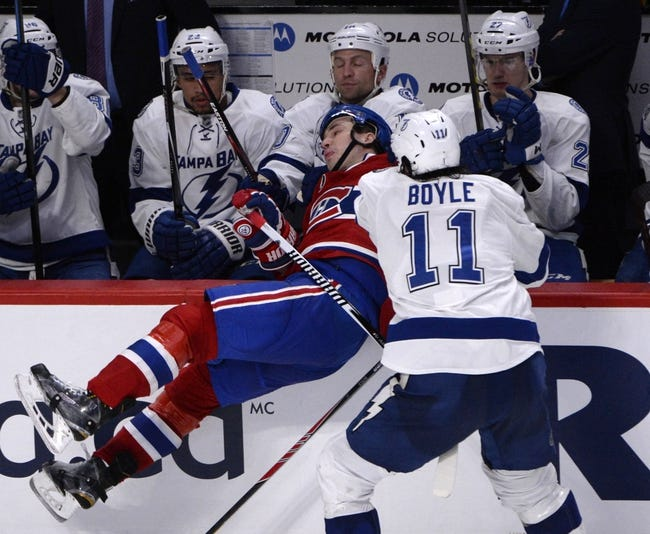 Tampa Bay Lightning  at Montreal Canadiens - 5/1/15 NHL Pick, Odds, and Prediction