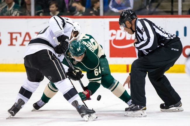 Los Angeles Kings vs. Minnesota Wild - 10/16/15 NHL Pick, Odds, and Prediction