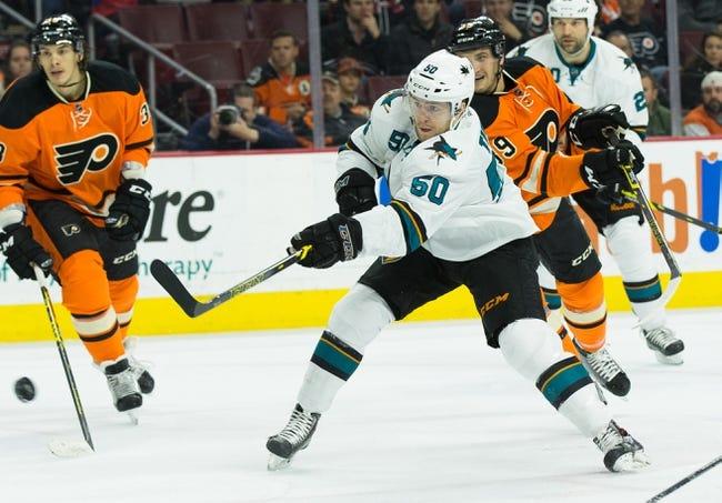 Philadelphia Flyers vs. San Jose Sharks - 11/19/15 NHL Pick, Odds, and Prediction
