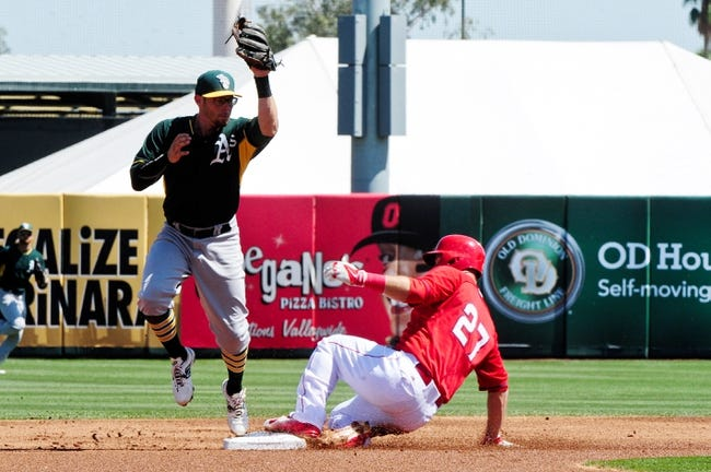 Angels vs. A's - 4/20/15 MLB Pick, Odds, and Prediction