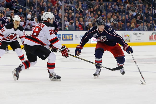 New Jersey Devils vs. Columbus Blue Jackets - 10/27/15 NHL Pick, Odds, and Prediction