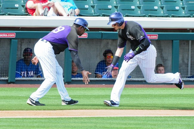 Rangers at Rockies - 7/20/15 MLB Pick, Odds, and Prediction