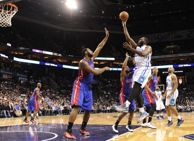 Pistons vs. Hornets - 4/12/15 NBA Pick, Odds, and Prediction