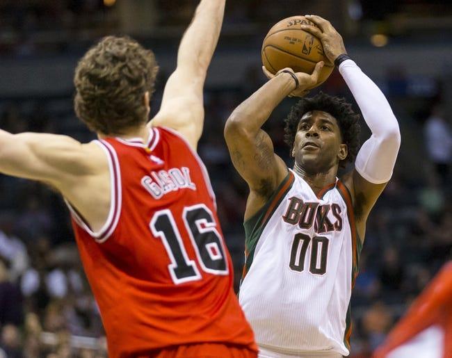 Bucks at Bulls - 4/18/15 NBA Pick, Odds, and Prediction