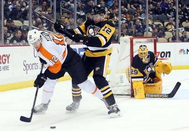 Flyers vs. Penguins - 4/5/15 NHL Pick, Odds, and Prediction