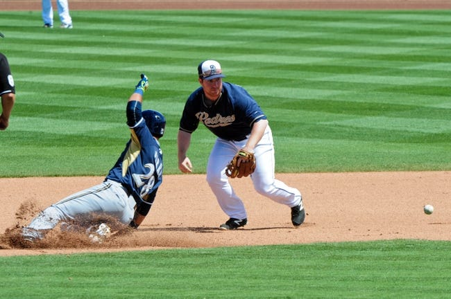 Milwaukee Brewers vs. San Diego Padres - 8/4/15 MLB Pick, Odds, and Prediction
