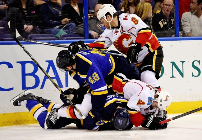 Calgary Flames vs. St. Louis Blues - 10/13/15 NHL Pick, Odds, and Prediction