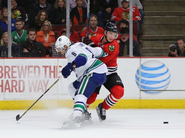Vancouver Canucks vs. Chicago Blackhawks - 11/21/15 NHL Pick, Odds, and Prediction