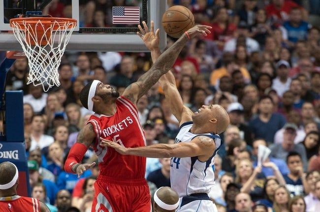 Mavericks at Rockets - 4/18/15 NBA Pick, Odds, and Prediction