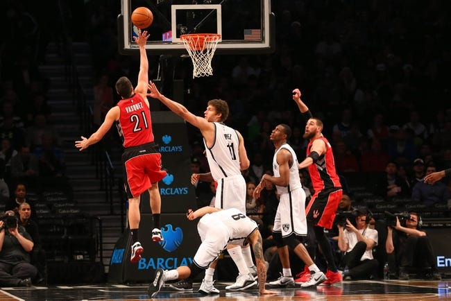 Nets vs. Raptors - 1/6/16 NBA Pick, Odds, and Prediction