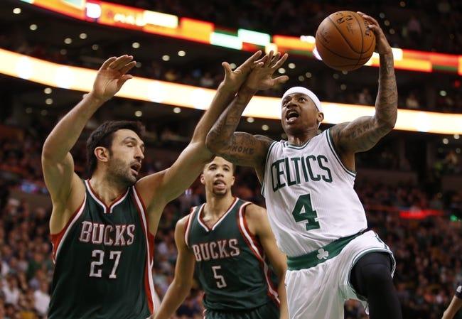 Celtics at Bucks - 4/15/15 NBA Pick, Odds, and Prediction