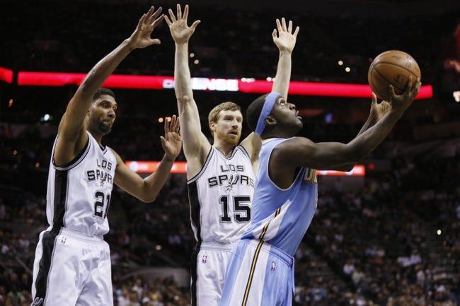 San Antonio Spurs vs. Denver Nuggets - 11/18/15 NBA Pick, Odds, and Prediction