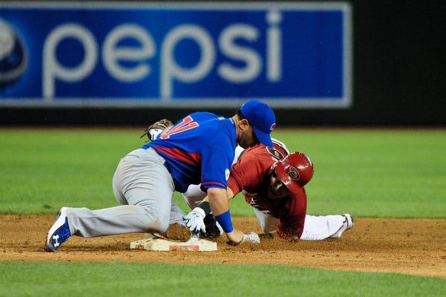 Arizona Diamondbacks vs. Chicago Cubs - 5/22/15 MLB Pick, Odds, and Prediction