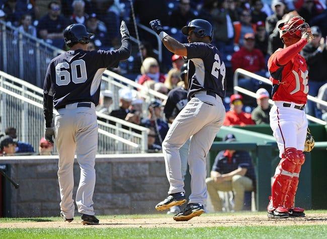 Yankees at Nationals - 5/19/15 MLB Pick, Odds, and Prediction
