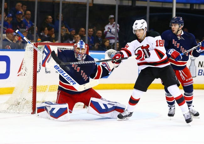 New Jersey Devils vs. New York Rangers - 4/7/15 NHL Pick, Odds, and Prediction