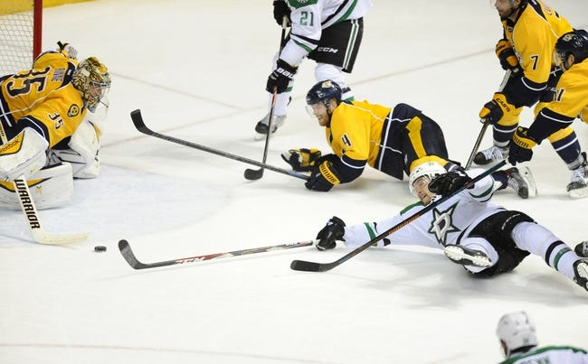 Dallas Stars vs. Nashville Predators - 12/31/15 NHL Pick, Odds, and Prediction