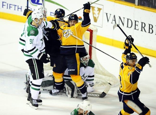 Predators vs. Stars - 2/15/16 NHL Pick, Odds, and Prediction