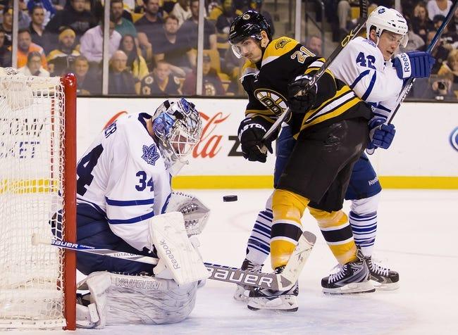 Boston Bruins vs. Toronto Maple Leafs - 11/21/15 NHL Pick, Odds, and Prediction