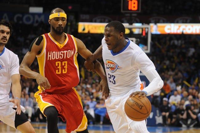 Thunder at Rockets - 11/2/15 NBA Pick, Odds, and Prediction