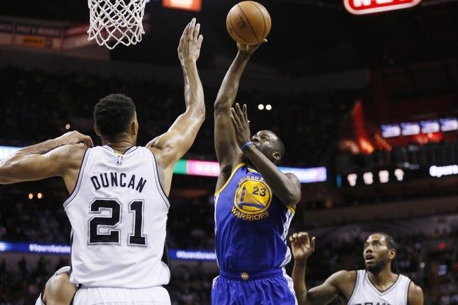Golden State Warriors vs. San Antonio Spurs - 1/25/16 NBA Pick, Odds, and Prediction