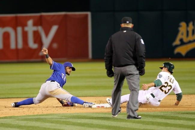 Athletics vs. Rangers - 4/7/15 MLB Pick, Odds, and Prediction