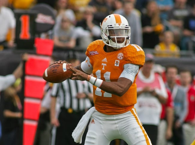 College Football Preview: The 2015 Tennessee Volunteers