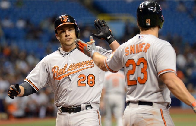 Rays vs. Orioles - 4/8/15 MLB Pick, Odds, and Prediction