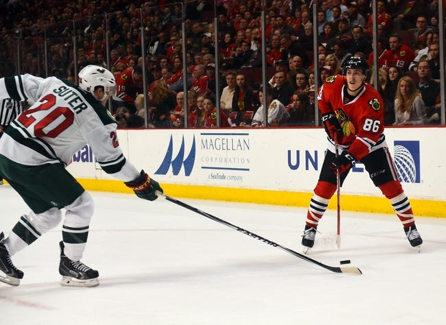 Chicago Blackhawks vs. Minnesota Wild - 5/1/15 NHL Pick, Odds, and Prediction