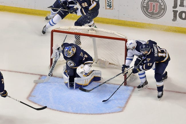 Blues at Jets - 10/18/15 NHL Pick, Odds, and Prediction