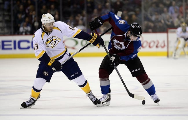 Nashville Predators vs. Colorado Avalanche - 12/12/15 NHL Pick, Odds, and Prediction