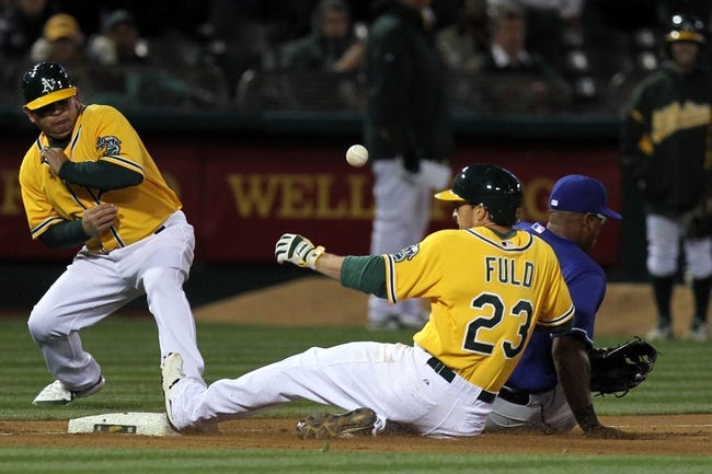 A's vs. Rangers - 4/8/15 MLB Pick, Odds, and Prediction